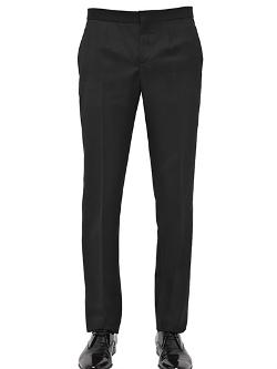 BURBERRY PRORSUM - Virgin Wool Tuxedo Trousers
