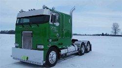 Peterbilt  - 362 Flat Nose Truck