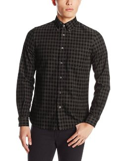 Fred Perry - Gingham Fine Cord Shirt