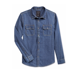 Guess - Denim Long-Sleeve Shirt