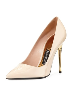 Tom Ford - Patent Leather Pin-Heel Pumps