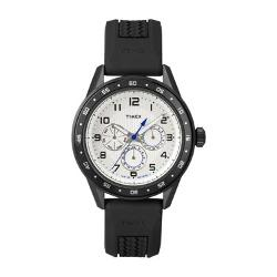 Timex - Ameritus Mens Round White Dial 5 ATM Watch