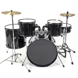 Best Choice Products - Full Size Black New Drum Set