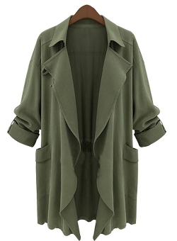 Xiaoming - Double Trench Long Jacket