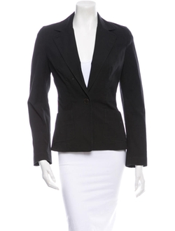 Piazza Sempione - Front Button Closure Blazer