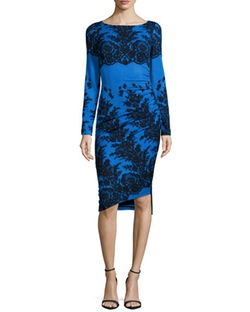 Tracy Reese - Long-Sleeve Sheath Dress
