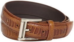 Stacy Adams - Embossed Genuine Leather Belt