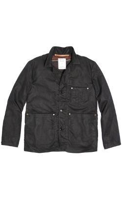 Billy Reid  - Waxed Cotton Shop Jacket