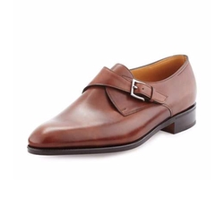 John Lobb - Ashill Single-Monk Leather Shoes