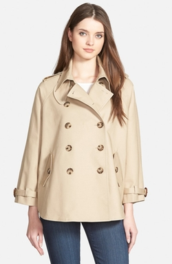 Michael Kors - Double Breasted Swing Trench Coat