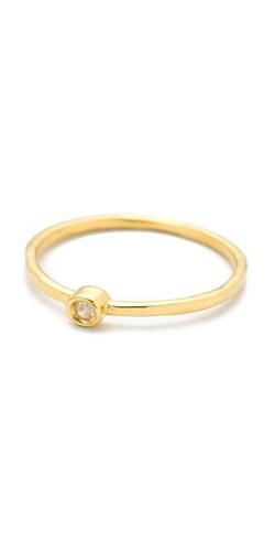Jacquie Aiche - JA Diamond Waif Bezel Ring