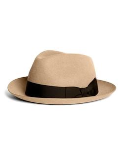 Brooks Brothers - Burma Atlantic Fedora Hat