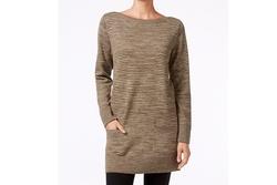 Jeanne Pierre  - Marled Knit Tunic Sweater