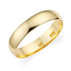 Wedding Band By Lovearing - Plain Wedding Band Ring