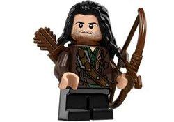 Minifigures - LOTR/Hobbit - Lego Hobbit Kili The Dwarf Minifigure