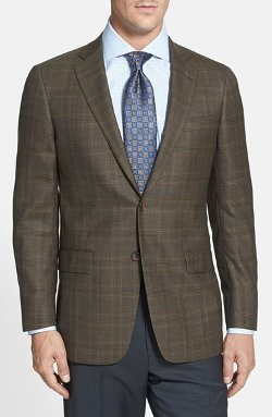 Hart Schaffner Marx - New York Classic Fit Plaid Sport Coat