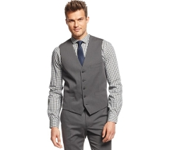 INC International Concepts  - Slim-Fit Barlett Vest