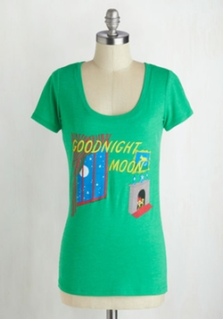 Out of Print - Novel Tee in Goodnight Moon