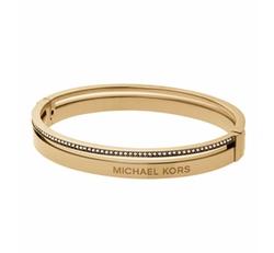 Michael Kors - Steel Logo Bangle Bracelet
