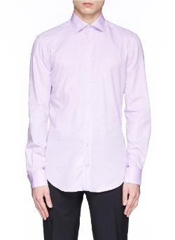 Armani Collezioni   - French Collar Poplin Shirt