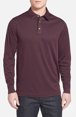 John W. Nordstrom - Long Sleeve Piqué Polo Shirt