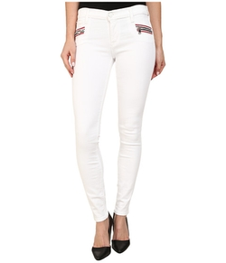 Hudson - Zipper Super Skinny Jeans
