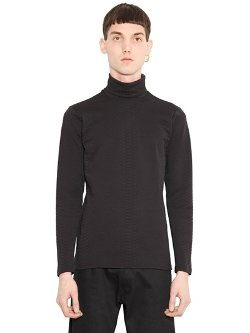 Christopher Kane - Snake Effect Turtleneck T-Shirt