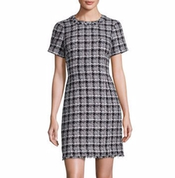 Kate Spade New York - Plaid Tweed Dress