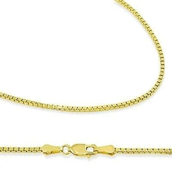 Sonia Jewels - Gold Box Chain Necklace