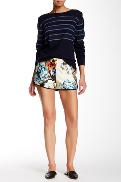 Tibi  - Tattoo Gazaar Silk Short