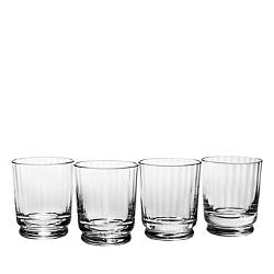 Reed & Barton  - Austin Crystal Double Old-Fashioned Glass Set