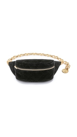 What Goes Around Comes Around - Vintage Chanel Velvet Waist Pouch
