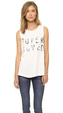 Current/Elliott  - The Super Loved Muscle Tee