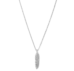 Forever 21 - Feather Charm Necklace