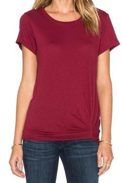 Michael Stars - Ruched Detail Tee