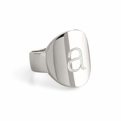 Mark And Graham - Modern X-Large Signet Ring