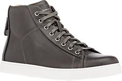 Gianvito Rossi - Back Zip High-Top Sneakers
