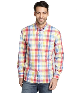 Harrison - Plaid Las Vegas Button Front Shirt