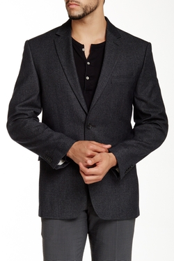 Vince Camuto  - Notch Lapel Two Button Wool Sportcoat