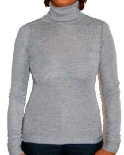 Terra Nova  - European Fit Supersoft Ladies Long Sleeve Top Turtleneck