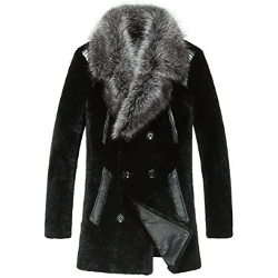 Cwmalls - Fox Fur Collar Coat