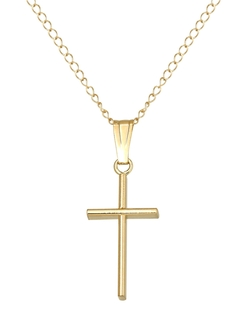 Lord & Taylor - Baby Cross Pendant Necklace