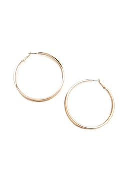 Forever 21 - Cutout Hoop Earrings