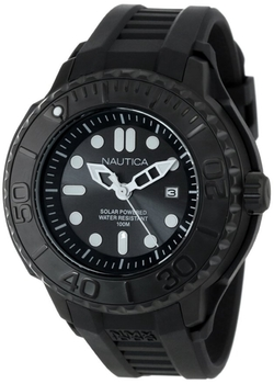 Nautica - Date Solar Powered Black Watch