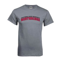 CollegeFanGear - Cal State Northridge Charcoal T Shirt