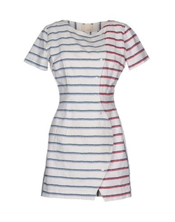 Band of Outsiders - Stripe Short Dress