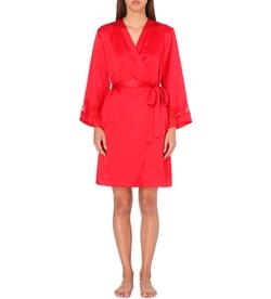 NK Imode -  V-Neck Silk-Satin Dressing Gown