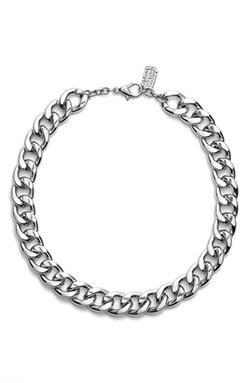 Karine Sultan - Curb Chain Collar Necklace