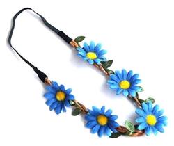 Jelinda - Bohemian Daisy Flower Headband