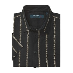 Toscano  - Patterned Short Sleeve Shirt